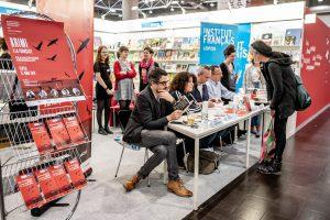 Institut français auf der Leipziger Buchmesse
